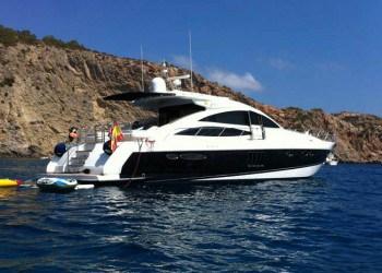 Alquiler de Yate Princess V70 en Ibiza