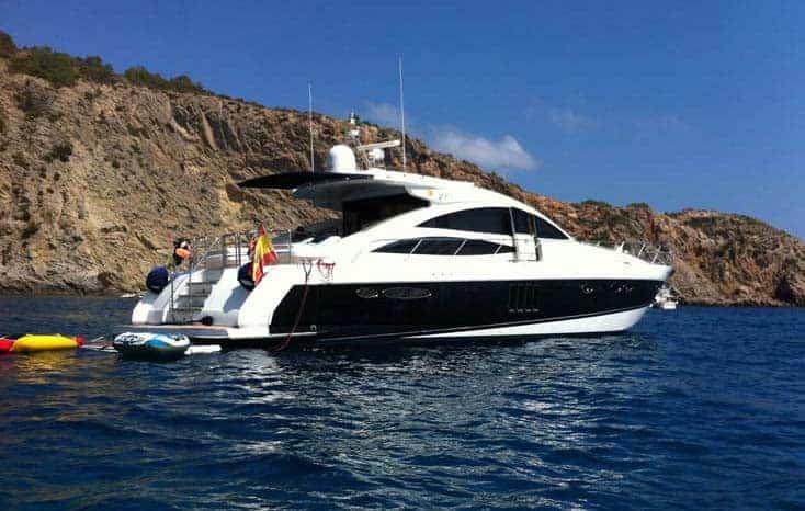Alquiler de yate en ibiza princess v70 ibizaboats - Fotos de yates ...
