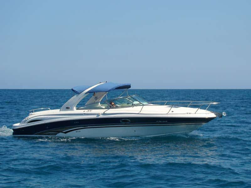 Alquiler de lancha Sea Ray 295 Sunsport en Ibiza