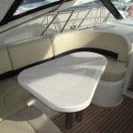 Lancha Princess v42  V42 Charter mesa exterior 150x150
