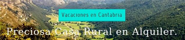alquiler casa rural cantabria