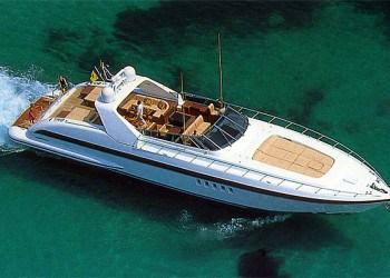 Alquiler de Yate Mangusta 80 en Ibiza