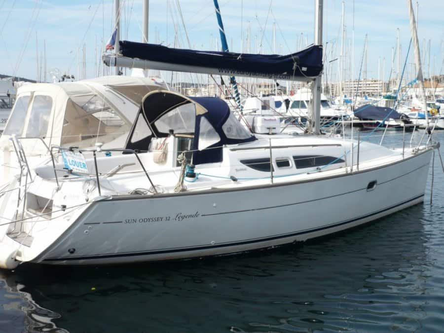 Alquiler de Velero Sun Odyssey 32 en Ibiza