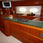 Yate Princess 65 37964 Ibiza PrincessV65 galley 150x150