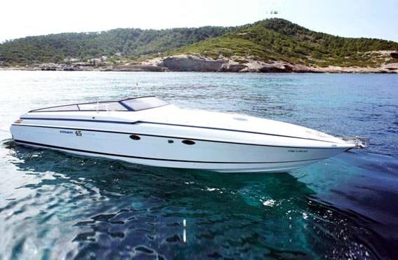 Alquiler de lancha Lancha Cherokee 45 en Ibiza