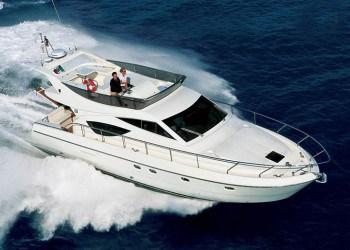 Alquiler de lancha Lancha Ferretti 460 en Ibiza