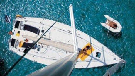 Navegación en velero por Ibiza