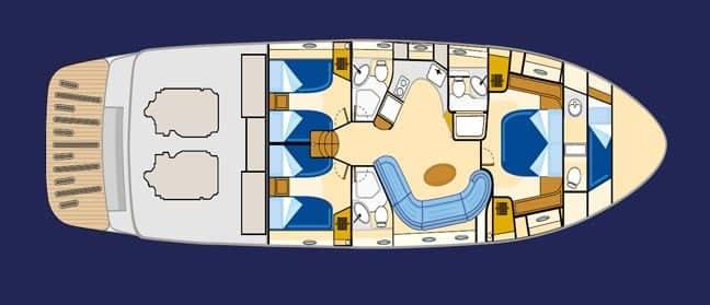 Yate Baia Azurra 63 deck