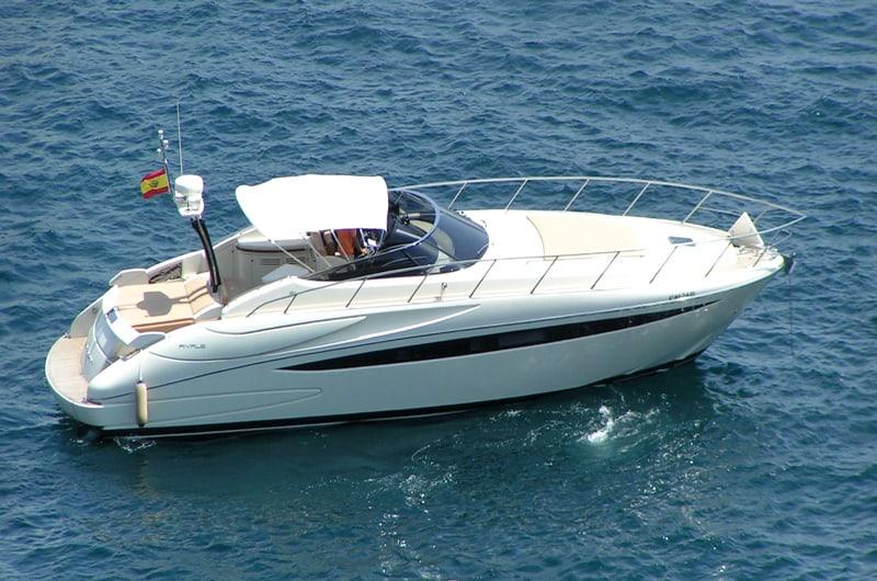 Alquiler de lancha Lancha Riva 52 Rivale en Ibiza