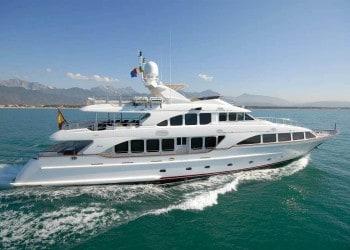 Alquiler de Yate Benetti 120 en Ibiza