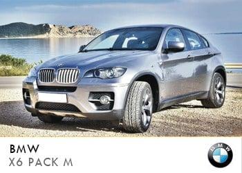 Alquiler de coche vip BMW X6 PACK M en Ibiza