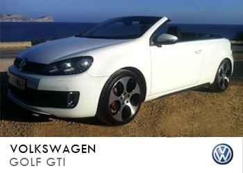 Alquiler de coche vip Volkswagen Golf GTI en Ibiza