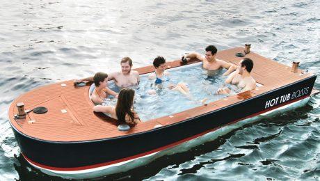barco con hidromasaje