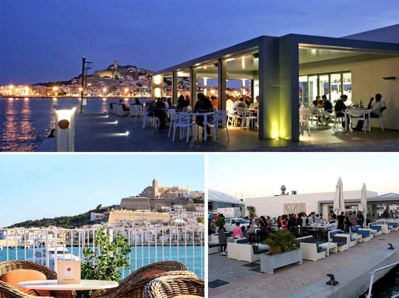 Marina ibiza exclusivo puerto de yates ibizaboats - Restaurantes en el puerto de ibiza ...