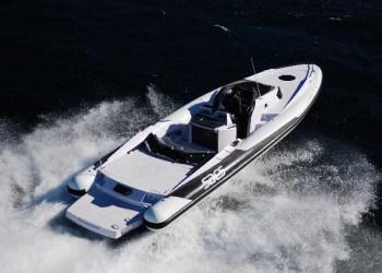 Alquiler de lancha Sacs Straider 12S en Ibiza