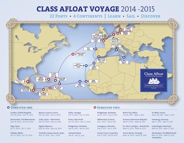 ClassAfloat2014_2015Itinerary