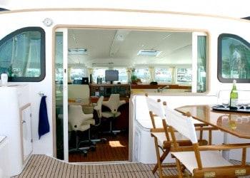 Alquiler de catamarán Catamarán Lagoon 570 en Ibiza