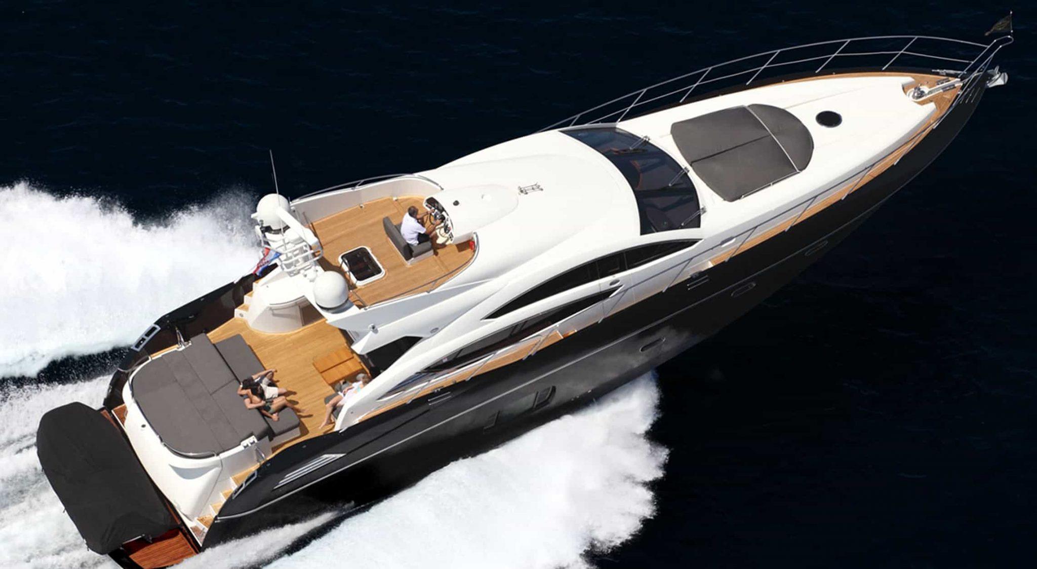 Alquiler de Sunseeker Predator 74 en Ibiza